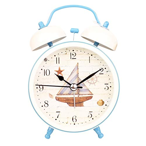 Despertador Reloj Mediterráneo Estudiante Creativo