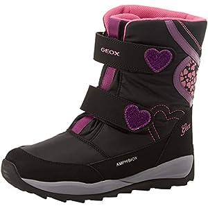 Geox J Orizont B Girl ABX E, Botas de Nieve para Niñas