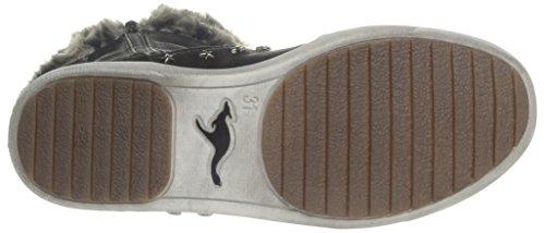 Kangaroos Kanga Boot 2010, Boots fille Noir (Black 500)