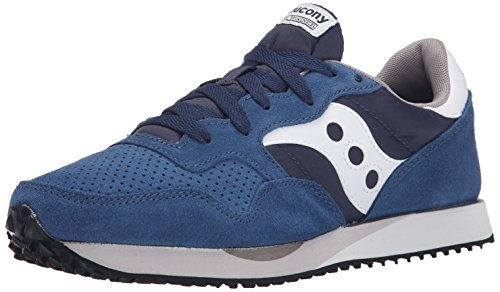 Saucony DXN Trainer unisex adulto, pelle scamosciata, sneaker bassa Blue