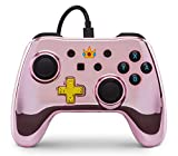 Manette filaire pour Switch - Chrome Peach