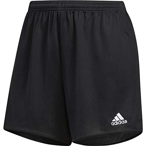 Adidas parma 16 sho w, pantaloncini donna, nero/bianco,xs