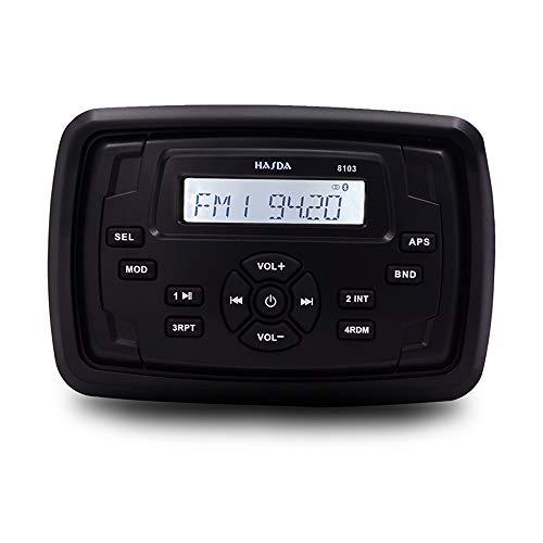 CX Best Bluetooth-Lautsprecher Marine-Lautsprecher bewegliches wasserdichtes Audio Geeignet für Saunen, Schiffe, Sightseeing Autos, Reisebusse, Bäder