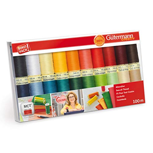 Gutermann 734610-1 Sew-All - Juego 20 carretes 100