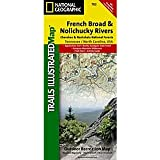 National Geographic Français Broad & Nolichucky Carte # 782