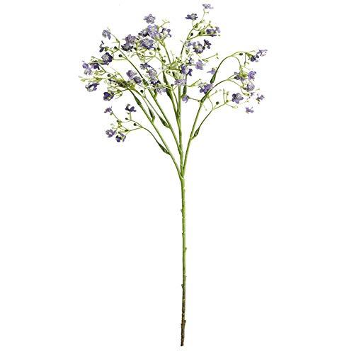 Lai-LYQ Blumenstrauß aus Seide, für Hochzeit, Zuhause, Garten, Rose, Rot, Plastik, violett, Purple - Seide, Blumen-reiniger-spray