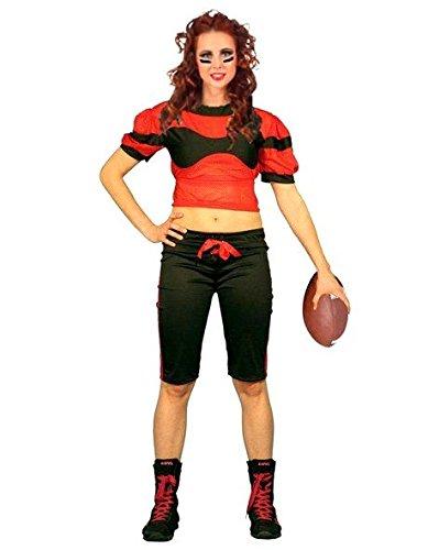 Atosa Disfraz de Jugadora de Rugby - Mujer, M
