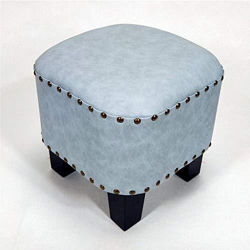 VSousT Niedrigen Hocker Mode Kreative Amerikanischen Stil Sofa Leder Pier Schuhe Bank Home Wohnzimmer Schuh Banksitz (Color : E) - Stil-leder-sofa