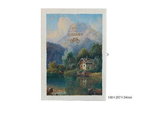 Lustig Rural Scenery Personal Tagebuch Notizbücher und Hardcover Zeitschriften Paper Books mit Lock for Home School für dein tägliches von QHDZ