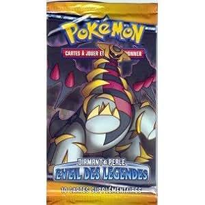 Booster de 10 cartes pok mon diamant perle eveil des legendes rare neuf sous blister rigide fr - Pokemon rare diamant ...