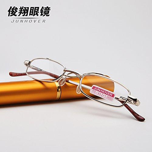 presbyopic brille authentische marke full - frame - ultraleicht - multifunktionale presbyopic objektiv presbyopic gläser gläser männlich - pen,harz 150 grad