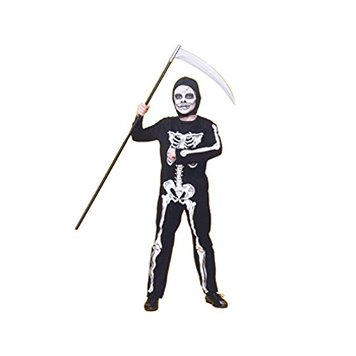 Haunted House - Disfraz infantil de esqueleto, talla S (Rubie's 12507-S)