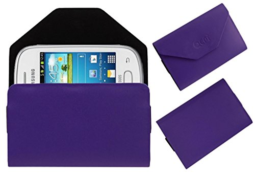 Acm Premium Pouch Case For Samsung Galaxy Star S5280 S5282 Flip Flap Cover Holder Purple  available at amazon for Rs.179