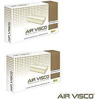 Air cuscino Visco Memory Foam Anatomico, confezione da 2