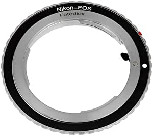 Fotodiox Pro Lens Mount Adapter Compatible With Nikon Camera Photo
