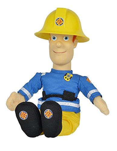 feuerwehrmann sam memory Simba 109258288 - Feuerwehrmann Sam sprechende Plüschfigur 30 cm