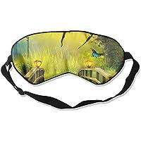 Colorful Butterflies Flying Ove Yellow Wooden Bridge 99% Eyeshade Blinders Sleeping Eye Patch Eye Mask Blindfold... preisvergleich bei billige-tabletten.eu