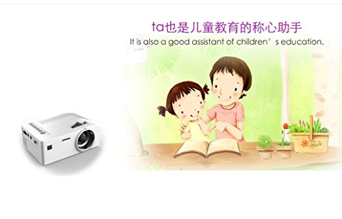 Mini Micro Portable Phone Projector Home HD Home Theater TV Projector