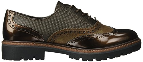 Marco Tozzi 23718, Oxford Shoes Brown Woman (café Con Peine)