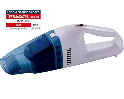 CleanIX Handstaubsauger Akkustaubsauger beutellos, Handsauger Nass/Trocken Funktion, Kabelloser Autosauger 6V, 25W Motor