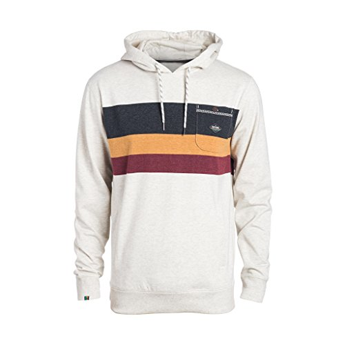 Rip Curl Yarnline Hooded Felpa, Moonbeam Marle, M