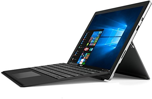 Microsoft Surface Pro 4 31,2cm (12,3 Zoll) Tablet-PC (Intel Core i5-6300U, 4GB RAM, 128GB SSD, Intel HD Graphics, WLAN, Windows 10 Pro) silber inkl. Keyboard