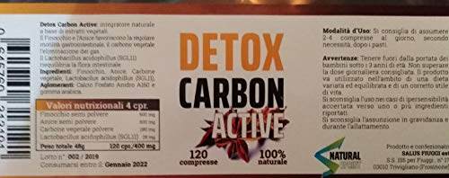 Zoom IMG-1 detox carbon active dimagrante brucia
