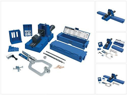 Einspannvorrichtung für Löcher Hole Jig K5MS-EUR, blau, von Kreg - Tabellen 20 Einheit