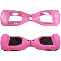 """Willdo Silicone Cove for 6.5"""" 2 Wheels Balance Scooter - Balance Hover Board Protector Case Cover(Lightblue/Pink/Black/Green/Blue)"""
