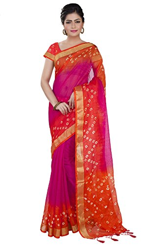 Rajnandini Cotton Saree (Joplsrs1024E_Pink)