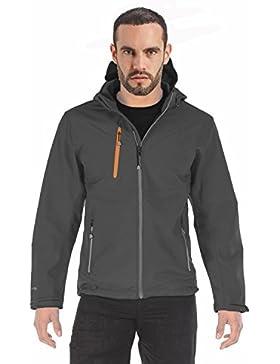 Regatta para hombre Chaqueta de X-Pro Dropzone Softshell impermeables y cortavientos, hombre, gris, XXL