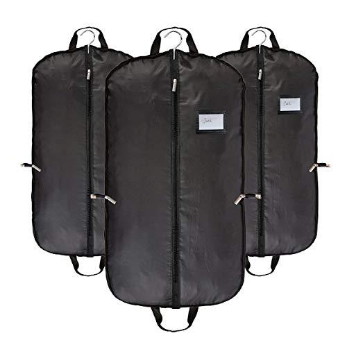 Transpirable ropa traje viaje fundas ropa bolsas negro