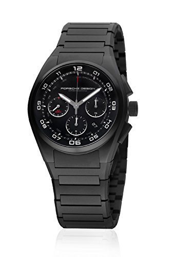 Porsche Design Dashboard Chronograph Automatic Black PVD Titanium Mens...