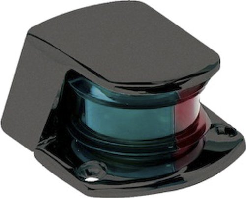 SeaSense Small Bow Light, Combination Bi-Color Black by SeaSense