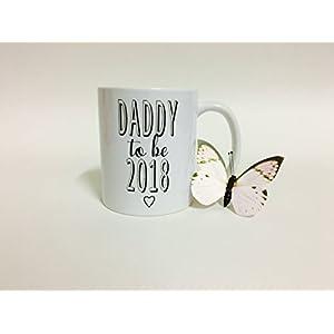 Tasse / Becher / Tasse mit Spruch / Daddy to be 2018 / Papa / Dad / Tasse Vatertag / Kaffeetasse / Teetasse Kinder & Erwachsene - Kunststoff oder Keramik