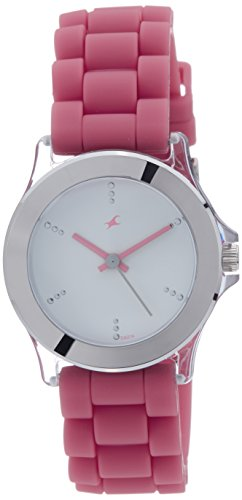 Fastrack Beach Upgrades Analog White Dial Women's Watch - NE9827PP07J image