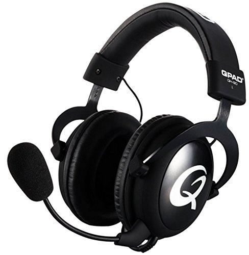 Qpad QH-90 Pro Gaming Hi-Fi Headset (98±3dB, 3,5mm Klinkenstecker) schwarz