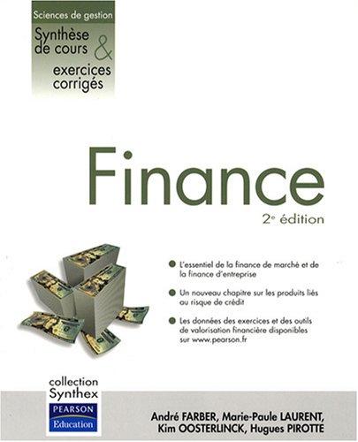 Finance 2ème Ed.