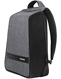 Amazon Brand - Solimo 23 Liter Anti-Theft Laptop Backpack with Rain Cover