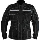 ausgezeichnet Motorradjacke textilien schwarz Motorrad Jacke Cordura Motorcycle Jacket