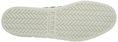 K-Swiss Adcourt '72 SO 03161-120-M Unisex-Erwachsene Sneaker Weiß (Classic White/Juniper 120)