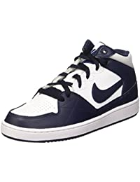 Nike - Priority Mid GS - Color: Blanco-Rojo-Rosa - Size: 37.5 HoGJt