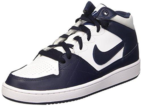 Nike 653675 144 - Basket-Ball, Enfant, Blanco/Negro (White/Obsidian-Obsidian), 37 1/2