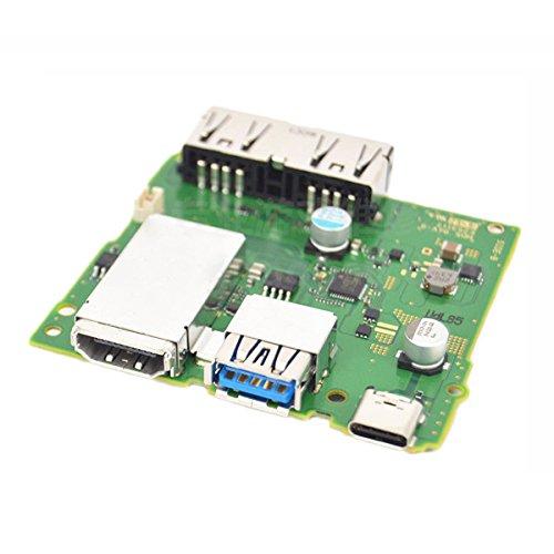 Motherboard System Board Ladegerät HDMI Dock Control für Nintendo Switch NS Console Reparatur ()