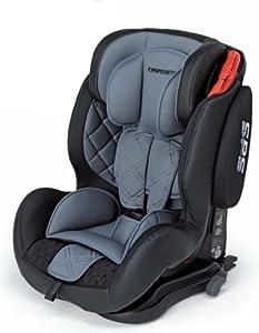 sillas de coche grupo 123: Foppapedretti Isodinamik, Silla de coche grupo 1/2/3 Isofix, gris/negro