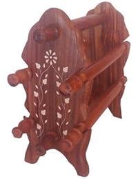 Regalo del día de padre para su padre querido Soporte del brazalete de madera, 6 de Rod pulsera soporte, soporte de madera de un brazalete,
