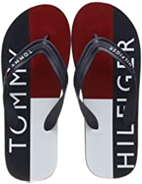 Tommy Hilfiger Hilfiger Print Beach Sandal, Infradito Uomo