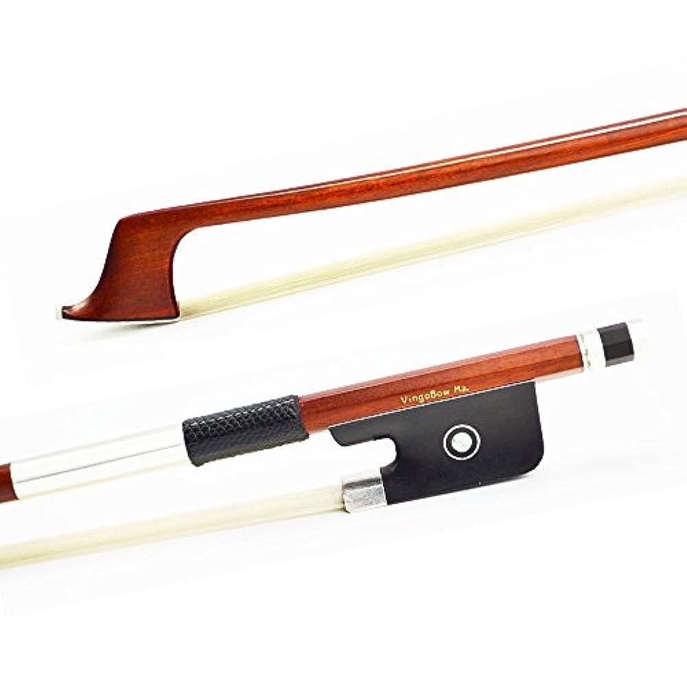 Eine ausgezeichnete Pernambuco Cello Bogen für Expert Verwenden. PREMIER Ebenholz Frog mit 100% Silber Spannbettlaken, 4/4Full Größe für Concerto Level
