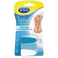 Scholl Velvet Smooth Nägel Sublime Ersatz Kit X3–(Stückpreis)–Schnell und sauber–Scholl Velvet smooth Sublime... preisvergleich bei billige-tabletten.eu