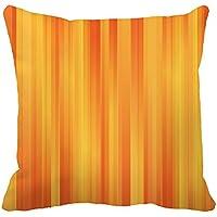 Okoukiu tela di cotone arancione federa copricuscino federa di cuscino